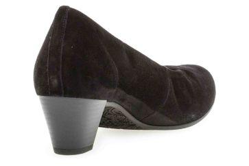 Gabor Comfort Basic Trotteur in Übergrößen Schwarz 26.180.47 große Damenschuhe – Bild 3