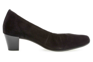 Gabor Comfort Basic Trotteur in Übergrößen Schwarz 26.180.47 große Damenschuhe – Bild 4