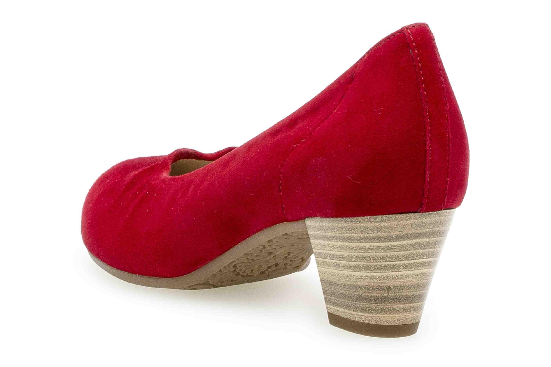 Gabor Comfort Basic Trotteur in Übergrößen Rot 26.180.48 große Damenschuhe – Bild 2