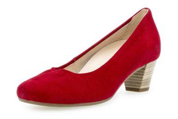 Gabor Comfort Basic Trotteur in Übergrößen Rot 26.180.48 große Damenschuhe – Bild 6