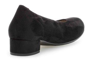 Gabor Comfort Basic Trotteur in Übergrößen Schwarz 26.210.17 große Damenschuhe – Bild 3