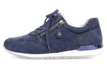 Gabor Comfort Basic Sneaker in Übergrößen Blau 26.364.66 große Damenschuhe – Bild 1