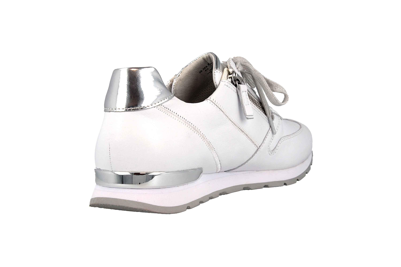 Gabor Comfort Basic Sneaker in Übergrößen Weiss 26.368.50 große Damenschuhe – Bild 3
