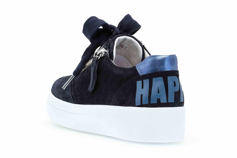 Gabor Comfort Basic Sneaker in Übergrößen Blau 26.428.46 große Damenschuhe – Bild 2