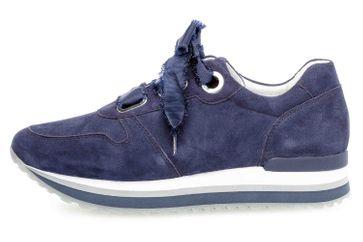 Gabor Comfort Basic Sneaker in Übergrößen Blau 26.445.16 große Damenschuhe – Bild 1