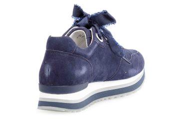 Gabor Comfort Basic Sneaker in Übergrößen Blau 26.445.16 große Damenschuhe – Bild 3
