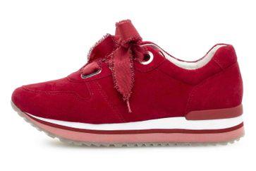 Gabor Comfort Basic Sneaker in Übergrößen Rot 26.445.48 große Damenschuhe – Bild 1
