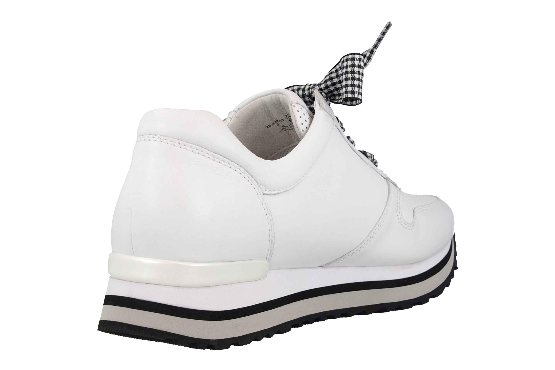 Gabor Comfort Basic Sneaker in Übergrößen Weiss 26.448.50 große Damenschuhe – Bild 3