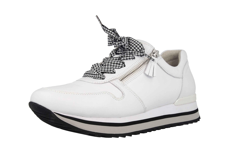 Gabor Comfort Basic Sneaker in Übergrößen Weiss 26.448.50 große Damenschuhe – Bild 6