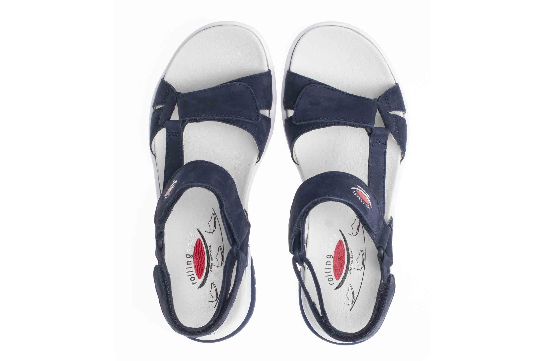 Gabor rollingsoft Sandaletten in Übergrößen Blau 26.928.36 große Damenschuhe – Bild 7