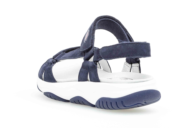 Gabor rollingsoft Sandaletten in Übergrößen Blau 26.928.36 große Damenschuhe – Bild 2