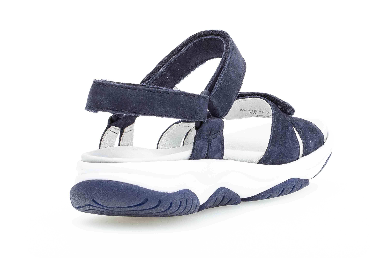 Gabor rollingsoft Sandaletten in Übergrößen Blau 26.928.36 große Damenschuhe – Bild 3