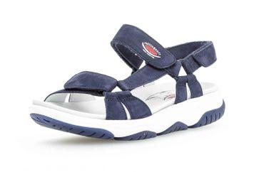 Gabor rollingsoft Sandaletten in Übergrößen Blau 26.928.36 große Damenschuhe – Bild 6