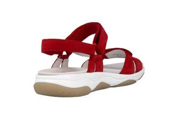 Gabor rollingsoft Sandaletten in Übergrößen Rot 26.928.48 große Damenschuhe – Bild 3