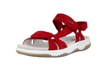 Gabor rollingsoft Sandaletten in Übergrößen Rot 26.928.48 große Damenschuhe – Bild 6