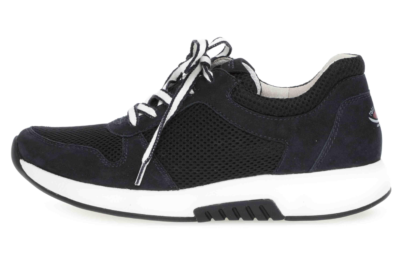 Gabor rollingsoft Sneaker in Übergrößen Blau 26.946.46 große Damenschuhe – Bild 1