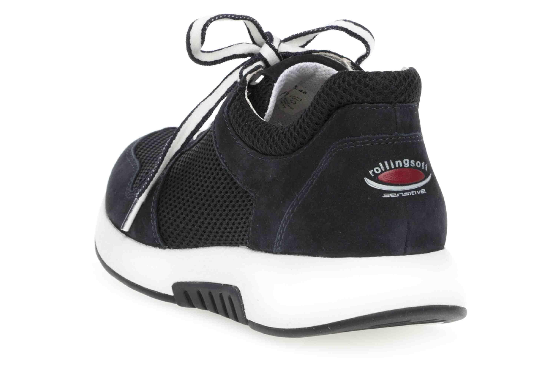 Gabor rollingsoft Sneaker in Übergrößen Blau 26.946.46 große Damenschuhe – Bild 2