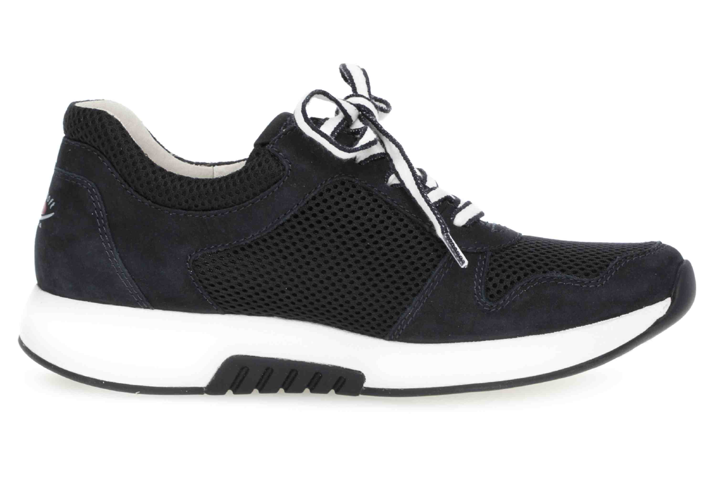 Gabor rollingsoft Sneaker in Übergrößen Blau 26.946.46 große Damenschuhe – Bild 4