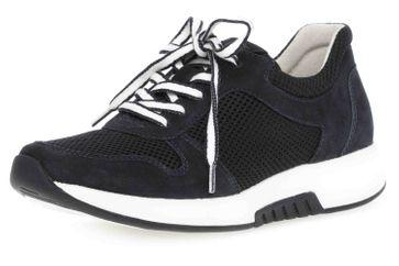 Gabor rollingsoft Sneaker in Übergrößen Blau 26.946.46 große Damenschuhe – Bild 6
