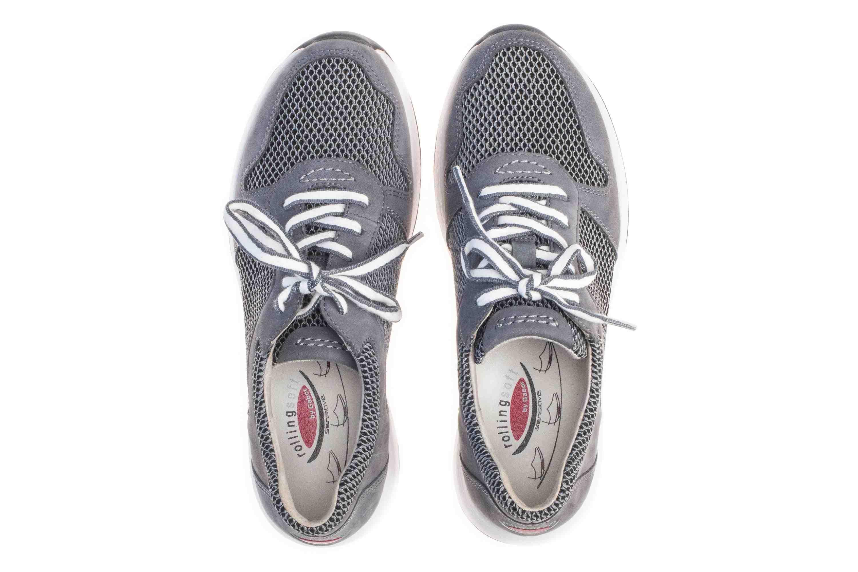 Gabor rollingsoft Sneaker in Übergrößen Grau 26.946.49 große Damenschuhe – Bild 7
