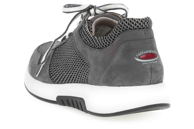 Gabor rollingsoft Sneaker in Übergrößen Grau 26.946.49 große Damenschuhe – Bild 2