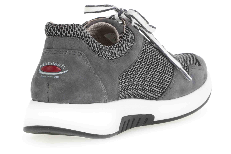 Gabor rollingsoft Sneaker in Übergrößen Grau 26.946.49 große Damenschuhe – Bild 3