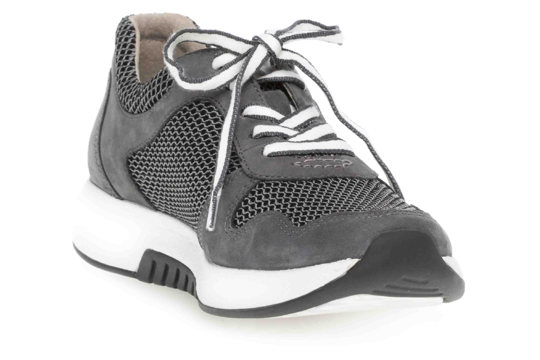 Gabor rollingsoft Sneaker in Übergrößen Grau 26.946.49 große Damenschuhe – Bild 5