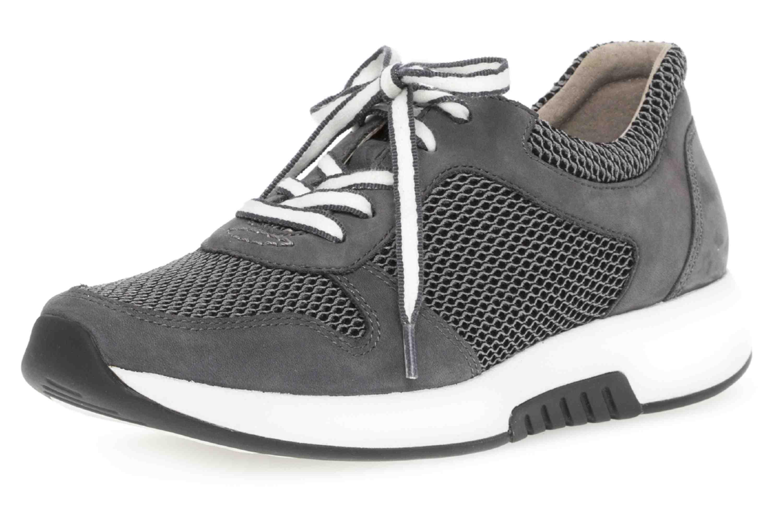 Gabor rollingsoft Sneaker in Übergrößen Grau 26.946.49 große Damenschuhe – Bild 6
