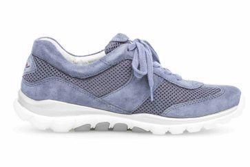 Gabor rollingsoft Sneaker in Übergrößen Blau 26.966.26 große Damenschuhe – Bild 4