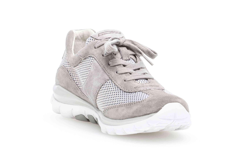 Gabor rollingsoft Sneaker in Übergrößen Grau 26.966.39 große Damenschuhe – Bild 5