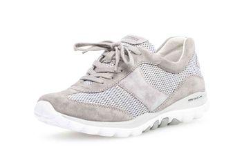 Gabor rollingsoft Sneaker in Übergrößen Grau 26.966.39 große Damenschuhe – Bild 6