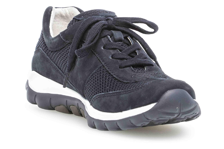 Gabor rollingsoft Sneaker in Übergrößen Blau 26.966.46 große Damenschuhe – Bild 5