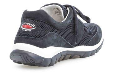 Gabor rollingsoft Sneaker in Übergrößen Blau 26.966.46 große Damenschuhe – Bild 3