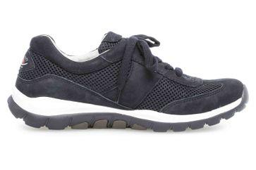 Gabor rollingsoft Sneaker in Übergrößen Blau 26.966.46 große Damenschuhe – Bild 4