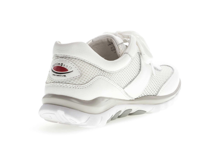 Gabor rollingsoft Sneaker in Übergrößen Weiss 26.966.50 große Damenschuhe – Bild 3