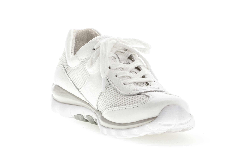 Gabor rollingsoft Sneaker in Übergrößen Weiss 26.966.50 große Damenschuhe – Bild 5