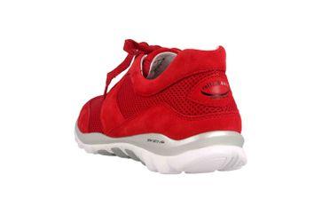 Gabor rollingsoft Sneaker in Übergrößen Rot 26.966.68 große Damenschuhe – Bild 2