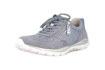 Gabor rollingsoft Sneaker in Übergrößen Blau 26.968.83 große Damenschuhe – Bild 6