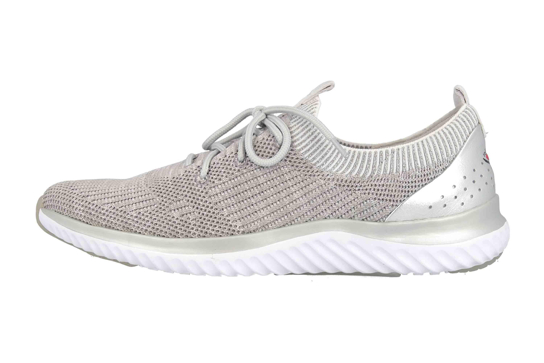 Gabor rollingsoft Sneaker in Übergrößen Grau 26.980.12 große Damenschuhe – Bild 1