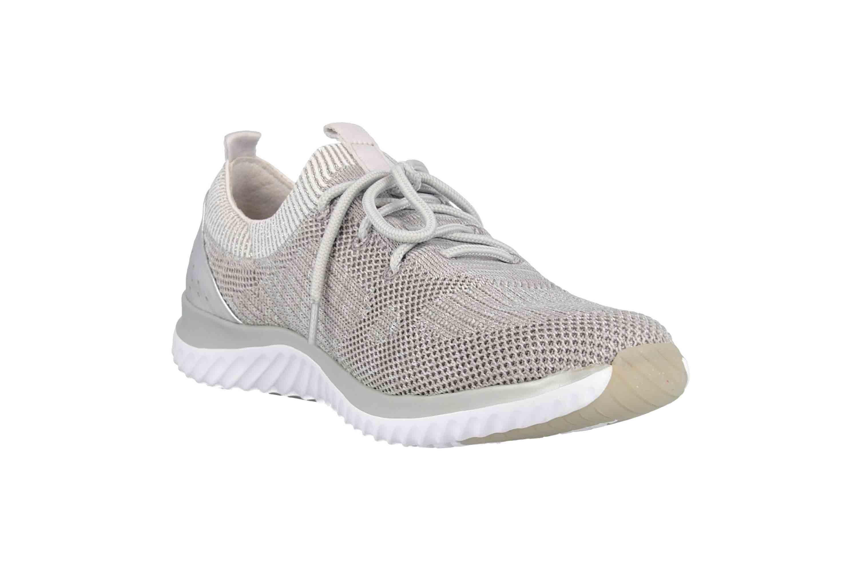Gabor rollingsoft Sneaker in Übergrößen Grau 26.980.12 große Damenschuhe – Bild 5