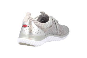 Gabor rollingsoft Sneaker in Übergrößen Grau 26.980.12 große Damenschuhe – Bild 3