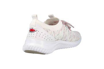 Gabor rollingsoft Sneaker in Übergrößen Weiss 26.980.13 große Damenschuhe – Bild 3