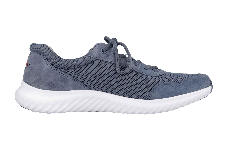 Gabor rollingsoft Sneaker in Übergrößen Blau 26.981.24 große Damenschuhe – Bild 4