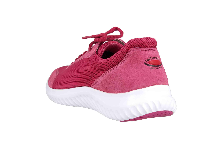 Gabor rollingsoft Sneaker in Übergrößen Rot 26.981.62 große Damenschuhe – Bild 2