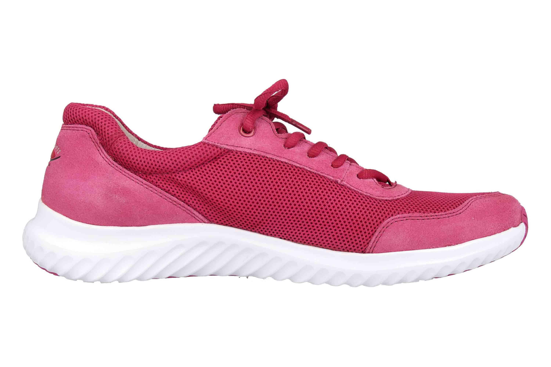 Gabor rollingsoft Sneaker in Übergrößen Rot 26.981.62 große Damenschuhe – Bild 4