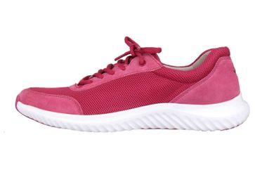 Gabor rollingsoft Sneaker in Übergrößen Rot 26.981.62 große Damenschuhe – Bild 1
