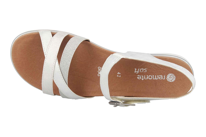 Remonte Sandalen in Übergrößen Silber D4052-90 große Damenschuhe – Bild 7