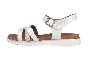 Remonte Sandalen in Übergrößen Silber D4052-90 große Damenschuhe – Bild 1