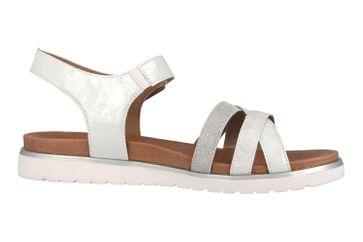 Remonte Sandalen in Übergrößen Silber D4052-90 große Damenschuhe – Bild 4