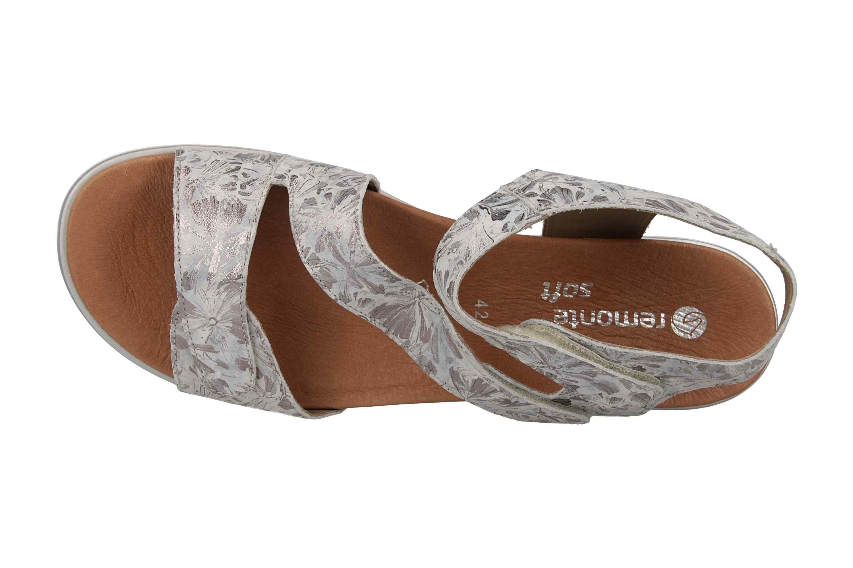 Remonte Sandalen in Übergrößen Silber D4057-42 große Damenschuhe – Bild 7
